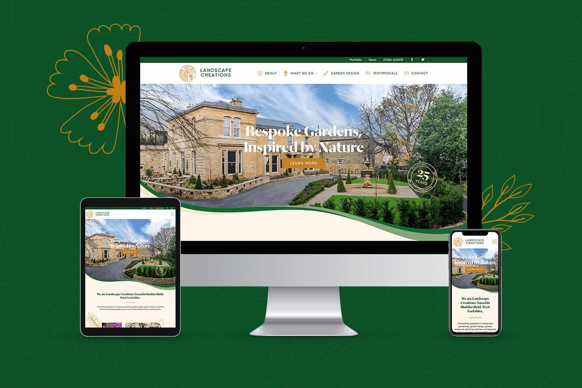 Landscape Creations Website