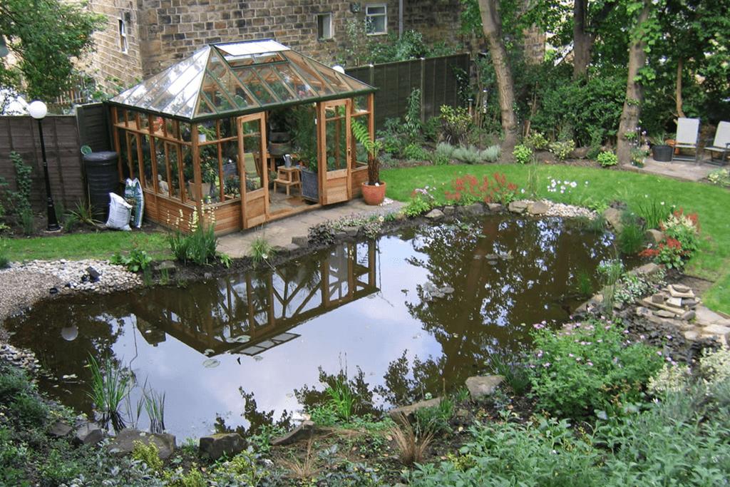 Landscape Creations – Peaceful Wildlife Garden Pond 1