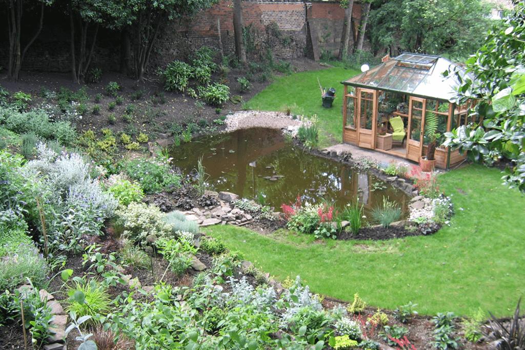 Landscape Creations – Peaceful Wildlife Garden Pond 2